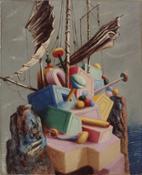 Savinio, Le navire perdu, 1928