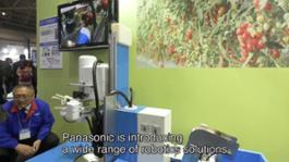 Panasonic's Robotics Solutions at International Robot Exhibition 2015