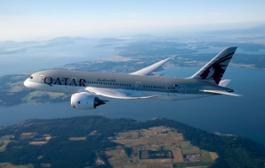 Pic 01 Qatar Airways' Boeing 787-800