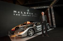 Gordon Murray and the McLaren F1 supercar