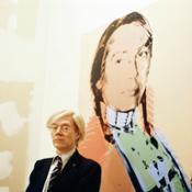 4.Andy Warhol ,La Factory New York 1977
