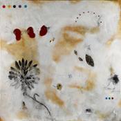 Flower V 2012 tecnica mista su tela cm170x170