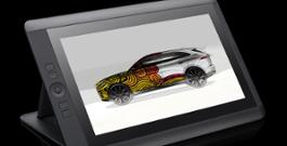 Rendering F-Pace + Wacom