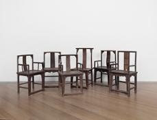 WeiWei-Ai_Fairytale-–-1001-Qing-Dynasty-wooden-chairs_2007_-ModernaMuseet_press