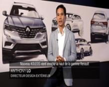 2016 - New Renault KOLEOS - Exterior design genesis