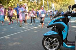 Yamaha Tricity alla Color Run (1)