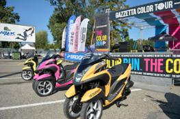 Yamaha Tricity alla Color Run (2)