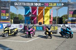 Yamaha Tricity alla Color Run (3)