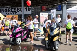 Yamaha Tricity alla Color Run (5)