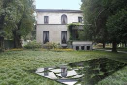 Davide Pizzigoni a Villa Necchi - RIFLESSI Installazione #1