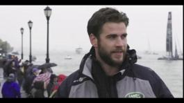 Land Rover BAR and Liam Hemsworth 30 second social