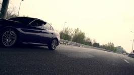 Footage Giulia driving