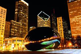 chicago-bean-cloud-gate-at-night-paul-velgos