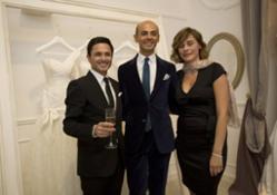 Gino Signore, Enzo Miccio e Vittoria Foraboschi