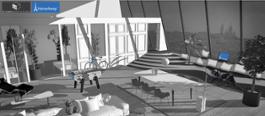HomeAway Appartamento Eiffel Tower rendering LR credits HomeAway