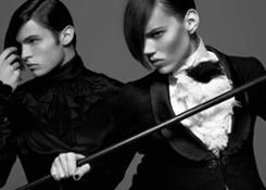 Karl Lagerfeld Monokel Diele German Vogue 2009  2016 Karl Lagerfeld
