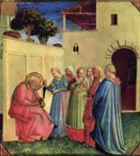 Beato Angelico_Imposizione del nome al Battistam