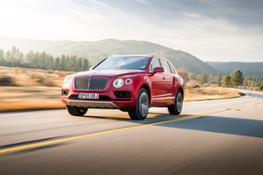 Bentley Bentayga named
