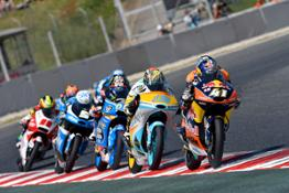 Brad Binder & Gabriel Rodrigo KTM RC250 GP Barcelona 2016