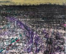 correnti sommerse, 150x170 cm, tecnica mista su tela  2016