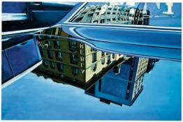 Richard Estes- Car Reflections- 1969- Private Collection