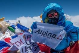 Alpina PR MelissaArnot TopEverest 2016