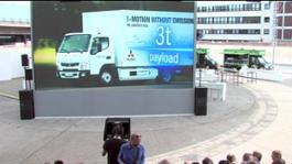 Daimler Trucks Presentation Fuso E-Cell and speech Marc Llistosella