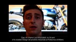 The designer Luca Masciatelli