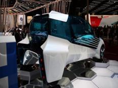 Footage Toyota FCV Plus