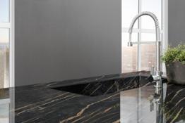 Laminam Cava Noir Desir Lucidato 1620x3240x12mm Kitchen top