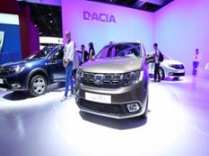 footage dacia logan mcv-full hd