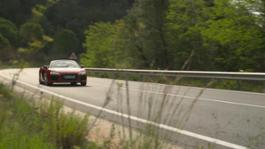 Audi R8 Spyder Footage red