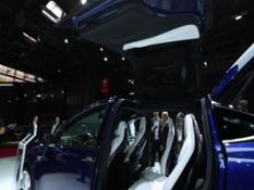 Footage Tesla Model X P100D