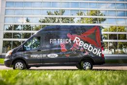 Ford-Reebok FitTruck-building