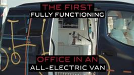 Nissan e-NV200 WORKSPACe  first all-electric mobile office