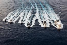 Ferretti Group Fleet at FLIBS