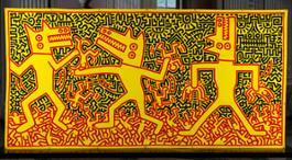 28.Keith Haring