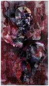 Volti umani del nostro tempo - ritratto contemporaneo n7 2015 tecnica mista cm 99 x84