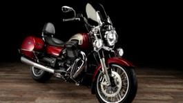 Moto Guzzi California Touring footage Still life