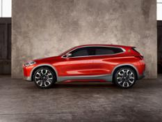 The BMW Concept X2.