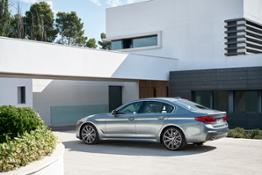 The new BMW 5 Series Sedan.
