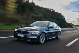 The new BMW M550i xDrive.