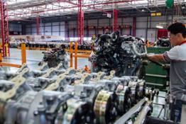 FPT Industrial SeteLagoas interior plant