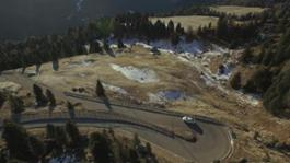 AUDI A5 Drone Ski World Cup Alta Badia 2016