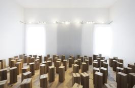 10) 100 prepared dc-motors, cardboard boxes 60x20x20cm. Credits Paolo Terzi
