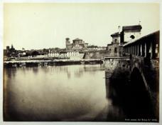 Pavia veduta dal Ticino