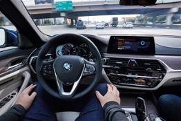 BMW @ CES 5 series Connected Mobility
