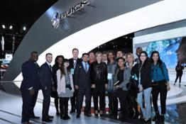 Discover Your Drive students with Chairman and CEO of GM, Mary Barra
