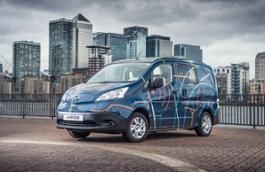 426156926 The future of working Nissan e NV200 WORKSPACe is the world s first all