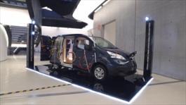 Clip Nissan e-NV200 WORKSPACe
